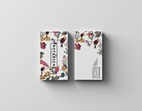 Логотип и фирменный стиль цветочной мастерской BOTANICA