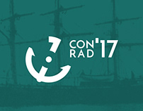 CONRAD 2017 - logo design