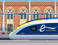 EUROSTAR e320 - ST.PANCRAS