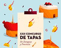 Concurso de Tapas - Poster