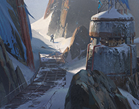 Felwinter's Peak Cliffside for Destiny : Rise of Iron