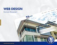 Web Design - Everest Aisvaram