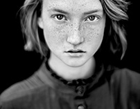 Black and White model Annemieke from Flag Models Agency