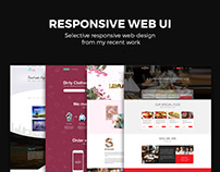 Responsive Website UI Designs