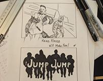 Inktober 2016 day 10 - Jump