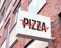 What Cheer Pizza Brand Identity