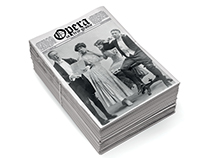 Threepenny opera / Opera za trzy grosze, newspaper book