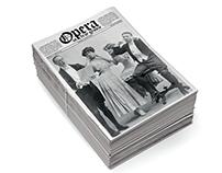 Threepenny opera / Opera za trzy grosze, newspaper book