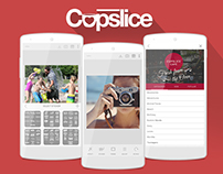 Single Page of Cupslice Site