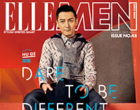 Hu Gefor Elle Men HK Aug ´17