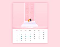 Neko Calendar