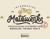 Free* Motowerks – Vintage Script