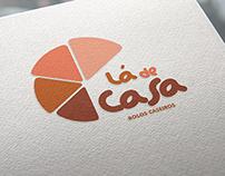Logo Lá de Casa