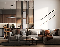 """Apartment in Moscow ZHK """"Union Park"""""""