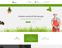 Nursery - Gardening and Landscaping HTML Template