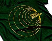 George Mason Physics Branding