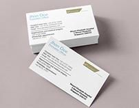 Medical Promotion Business card