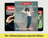 Newsweek - Michael Jackson issue full page print