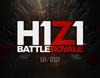 H1Z1 UI/GUI Work