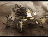 Spider Tank(Concept:  Fausto De Martini)