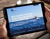 Fish Whisperer - Website design