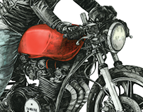Café Racer project No. 2