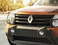 Renault Duster CGI