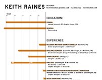 Keith Raines Resume
