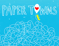 Paper Towns Movie Poster Illustration