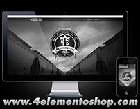 4elementos Graffiti Shop - Website