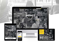 Impact Website and branding campaign