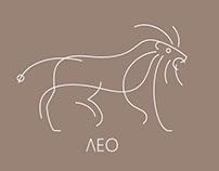 LEO - Logo doodle