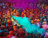India's Colorful Holi Festival
