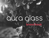 «Aura Glass» brand book