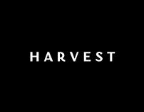 Harvest font for restaurant