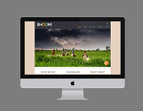 BHOOMI - RESPONSIVE AGRICULTUR WEB LAYOUT