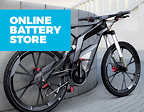 Online battery store.