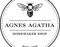 Agnes Agatha digital and print ads