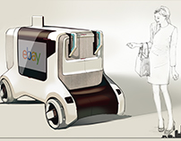 AUTONOMOUS DELIVERY VEHICLE by Sol You