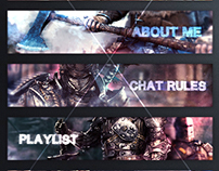 """""""For Honor"""" Twitch Information Panels"""