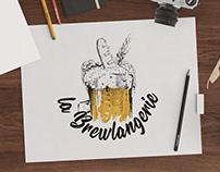 Identité visuelle // La Brewlangerie