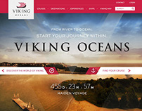 Viking Oceans: Site Design