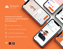 Blossom - Beauty mobile UI Kit