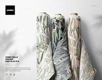 Fabric Rolls Mockup (36/FFv.6)