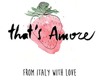 That's Amore - resturant menù