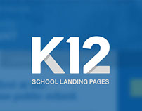 K12 School Landing Pages