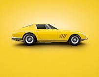 Yellow - Ferrari 275 GTB