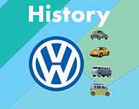 Volkswagen History Print Idea