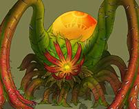 Plant monster (Fliezund)