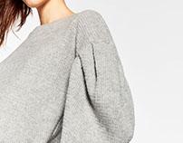 Gray Sweater for TRF zara